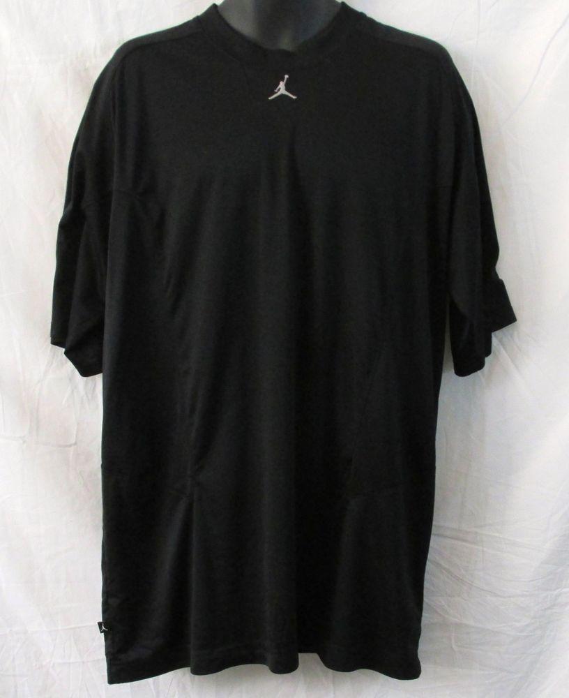 d05bd77258f5b1 Michael Jordan Black Men s Training Jumpman Shirt 2XL Big   Tall   AirJordanbyNike  ShirtsTops