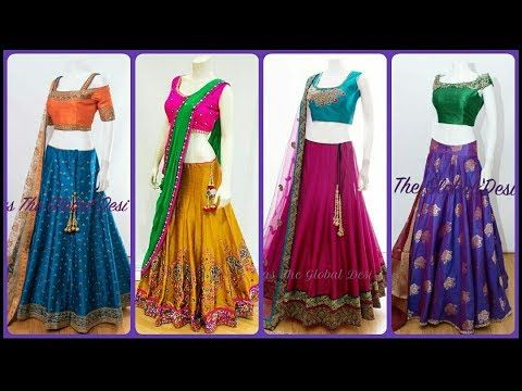 Latest Navratri Garba Outfit Ideas | Lehenga Choli Designs | Colorful Lehenga Designs for Garba 2019 #chaniyacholi
