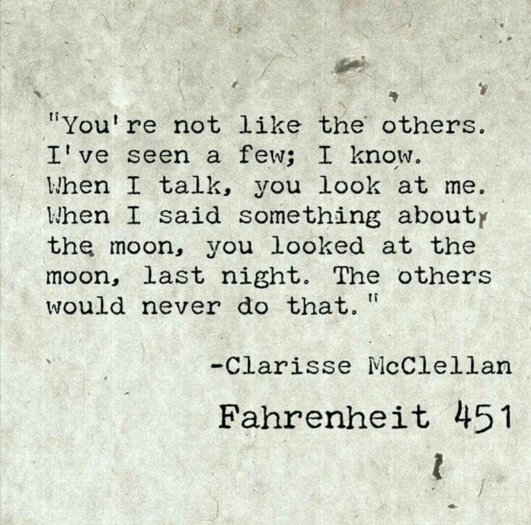 Quotes From Fahrenheit 451 Pinmahrukh On Melancholy  Pinterest