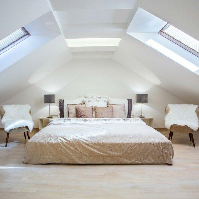 Traum Wirklichkeit Geräumiges Helles Einladendes Schlafzimmer Auf Dem Dachboden  Dachboden, Schlafzimmer Ideen, Kinderzimmer,