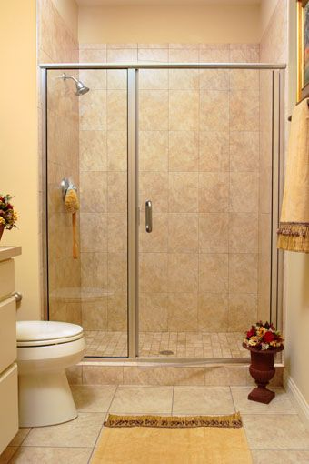 Infinity 1413 Clear Glass Brushed Nickel Shower Doors Custom