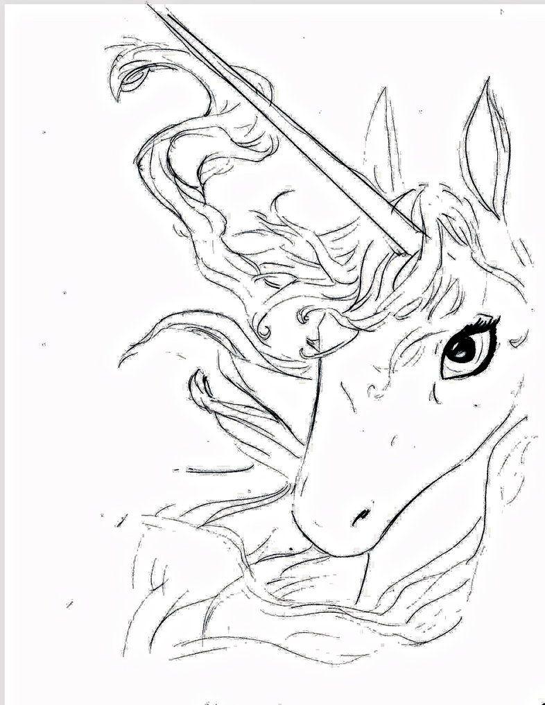 The Last Unicorn Red Bull Tattoo The last unicorn by