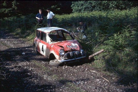 1965 RAC Rally And 1966 Scottish Winning Cooper S Gulf London Written Off