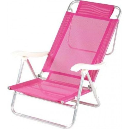 Whole Outdoor Pink Beach Chair