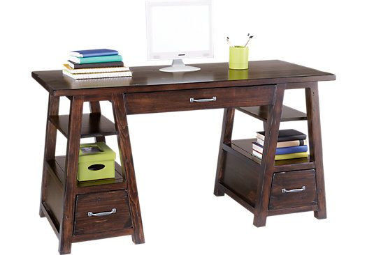 Carter S Kids Collection Lost Creek Espresso Desk Bedroom Furniture Stores Rooms To Go Furniture Rooms To Go Kids