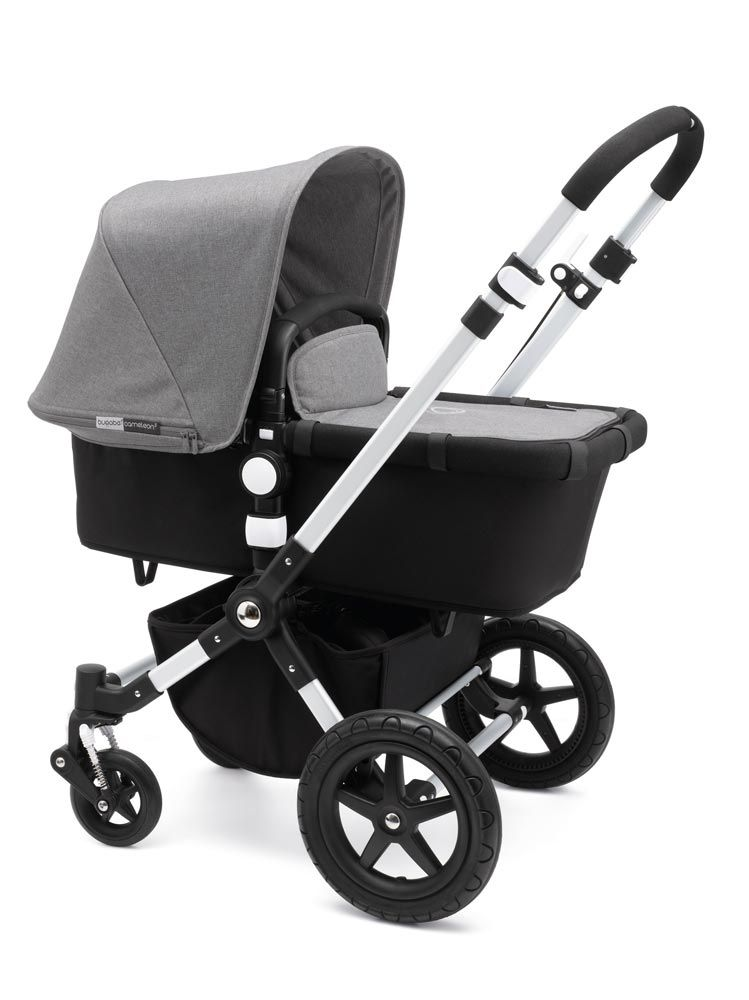 John Lewis Pushchairs From Birth Bugaboo Cameleon3 Bekleidungsset Grey Mélange Baby