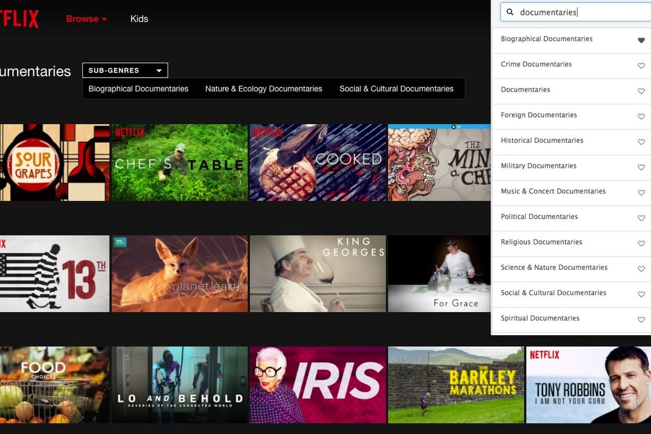 Noted: New Chrome extension helps find all those hidden Netflix