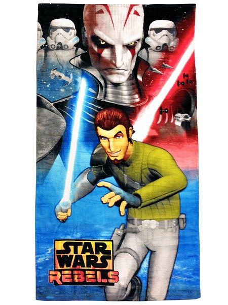 Valosapelin loistetta hehkuva Star Wars Rebels -pyyhe on jokaisen fanin  suosikki. Materiaali  100 492a2f7876