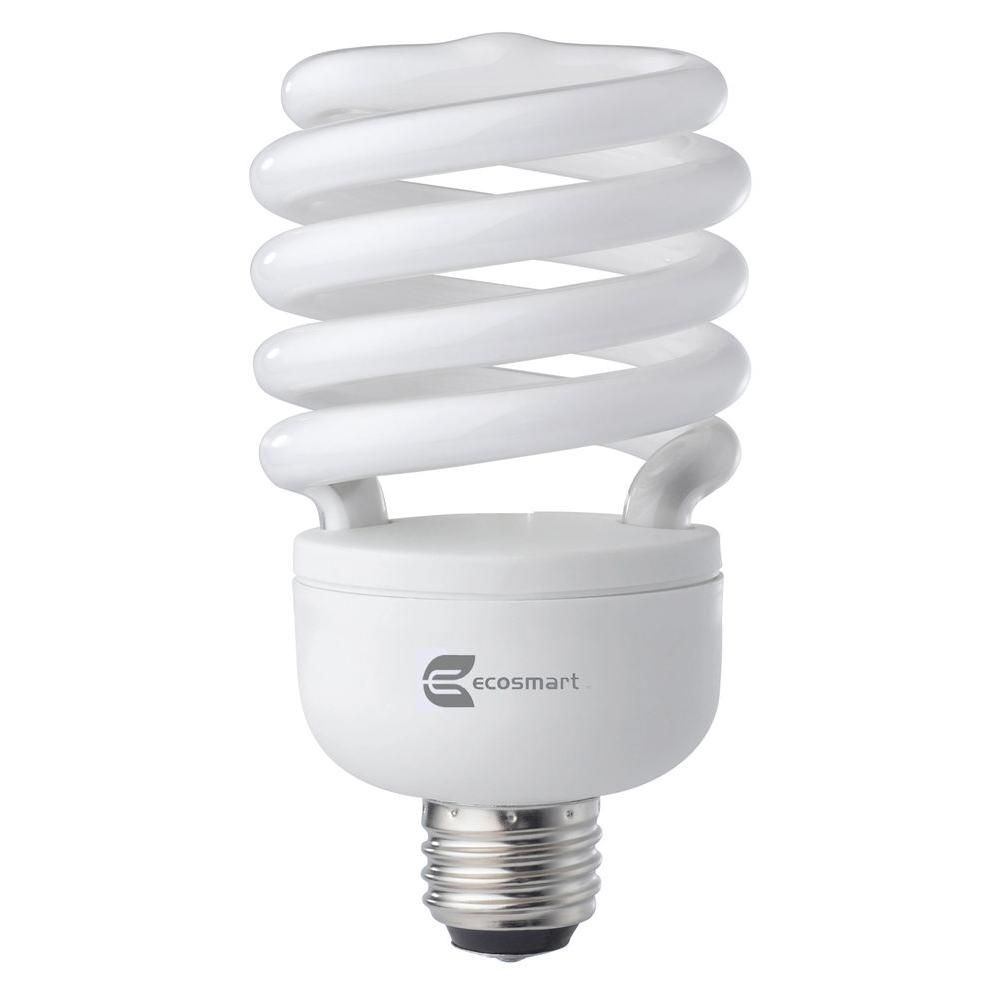 Ecosmart 120w equivalent bright white 3500k spiral cfl light bulb ecosmart 120w equivalent bright white 3500k spiral cfl light bulb arubaitofo Images