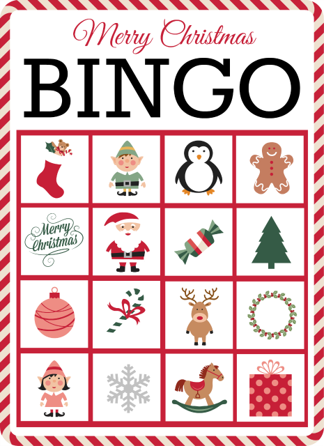 christmas bingo 10 free printable cards christmas