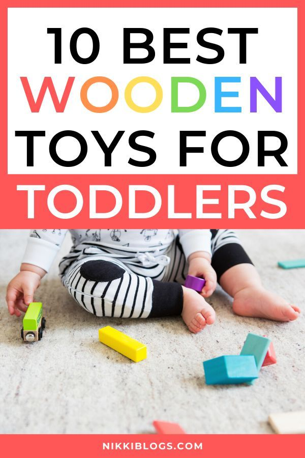 Best Wooden Toys for Toddlers 2019: Mom & Kid Approved!