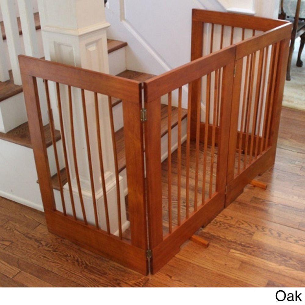 4 panel freestanding tall pet gate extra tallfree
