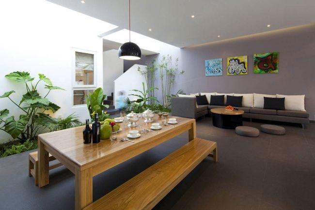 Mobilier salle à manger canapes, table et bancs votre espace