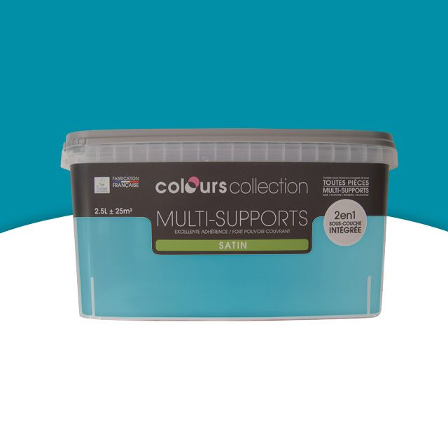 Peinture Multi Supports COLOURS Collection Rivièra Satin 2,5L