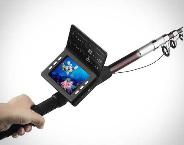 SMTTECH 3.5 inch LCD Monitor Underwater Fishing Camera   Underwater fishing  camera, Underwater, Camera