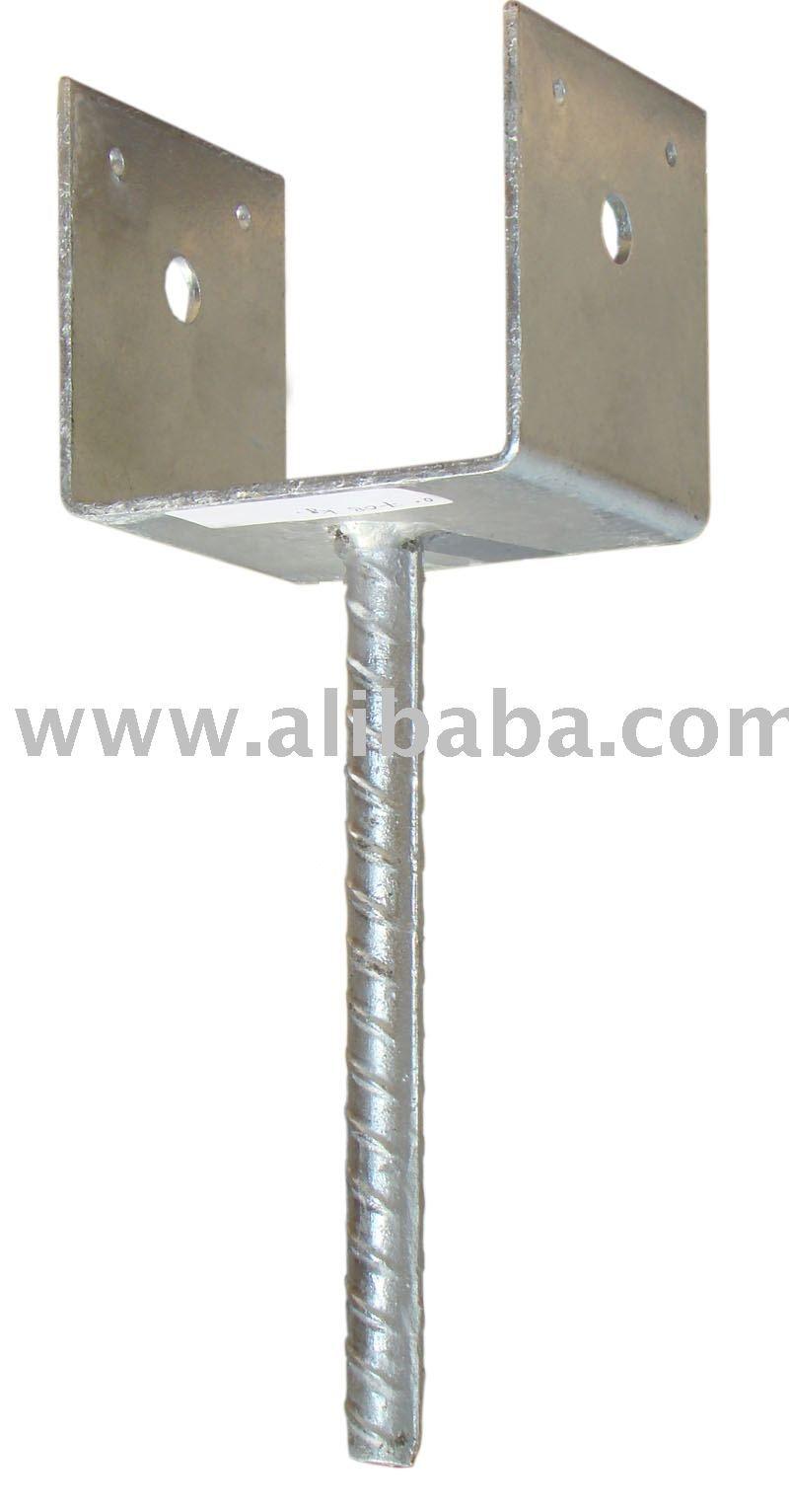 image result for 4x4 post brackets outdoors metal. Black Bedroom Furniture Sets. Home Design Ideas