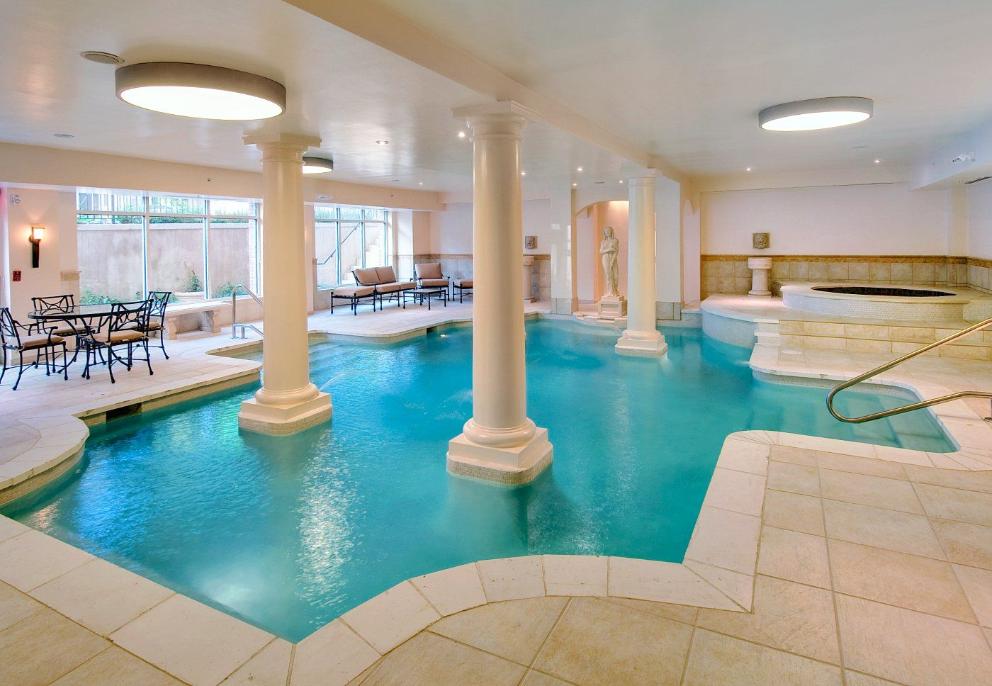 Take A Dip In Our Roman Bath Style Indoor Pool Washington Hotel Hotel Grand Hotel