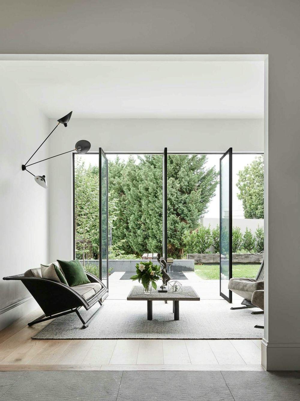 Glass Door Designs For Living Room Fascinating Pinoscar Racso On Interieur & Huisjes  Pinterest  Living Inspiration Design
