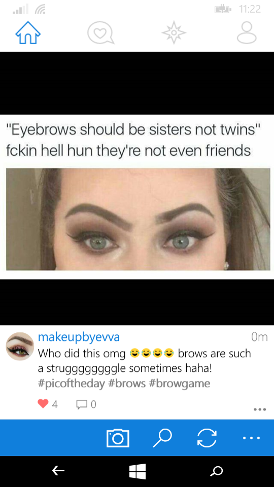 Pin By Aida Peci On Quotes Brows Eyebrows Haha