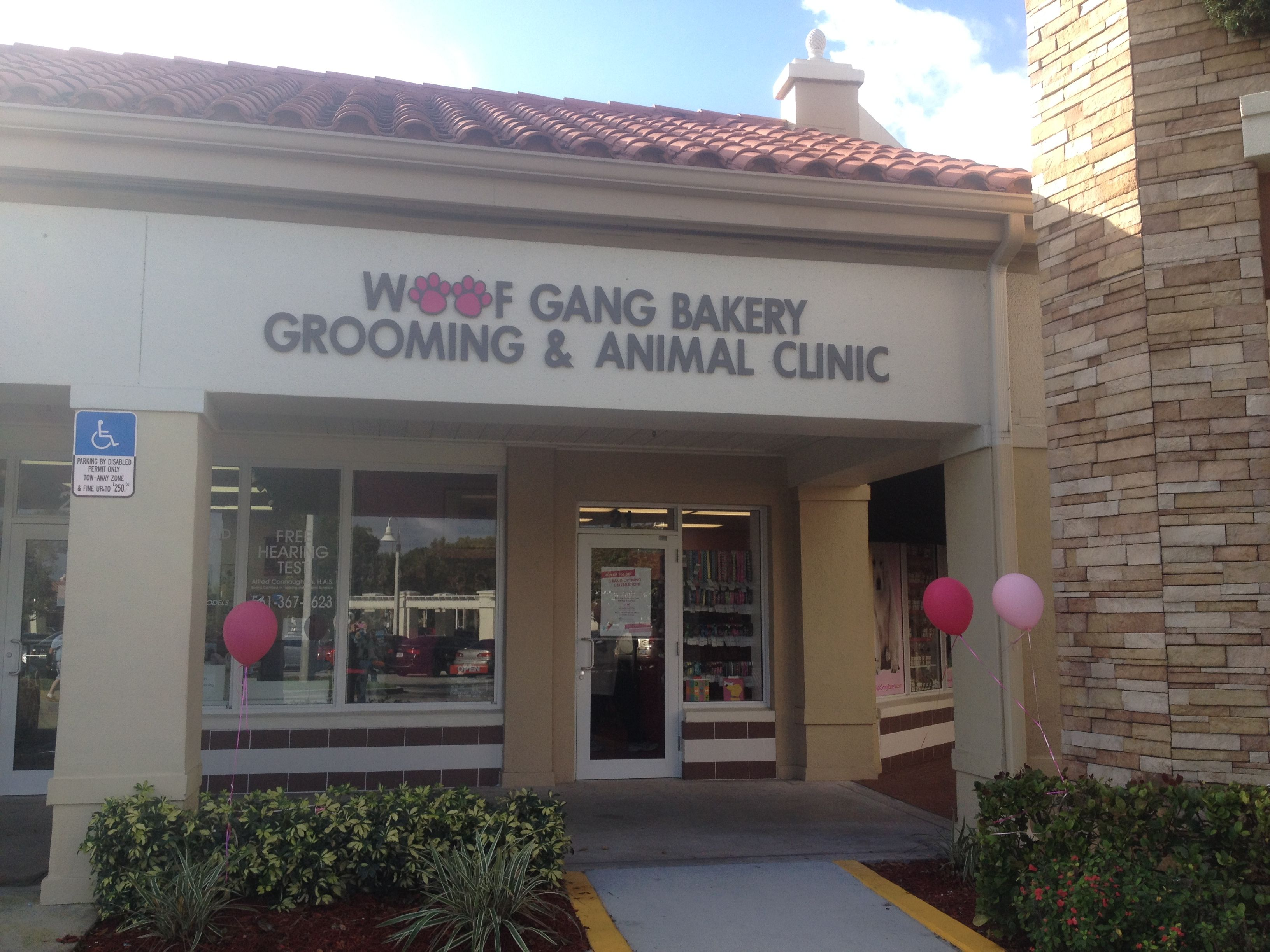 Now Open Woof Gang Bakery Grooming And Vet Clinic Boca Raton
