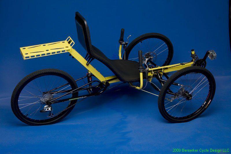 Berserker Suspension Recumbent Tricycle Berserker Tricycle Recumbent Bicycle Bicycle Sidecar Bicycle Workout