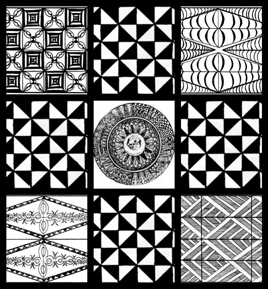 Collage Of Tongan Motifs Art Inspirations Patterns Pinterest