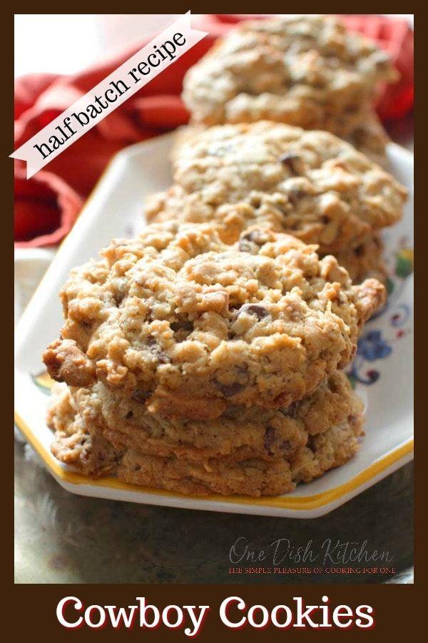 Cowboy Cookies (Texas Governor's Mansion Cookies) Half