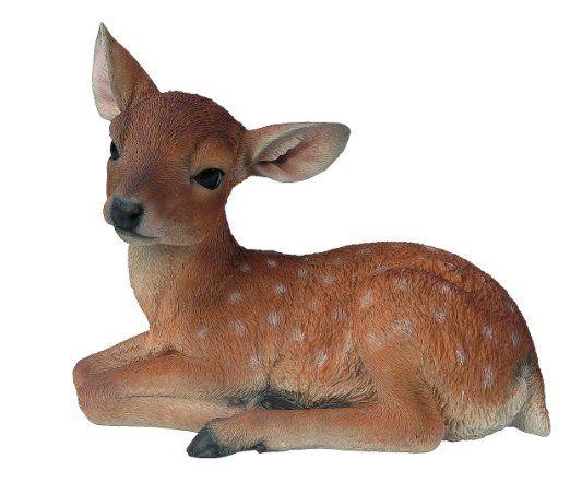 Bambi Cucciolo Cm,.32 h. in Vetroresina