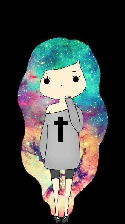 Hipster Galaxy Cat Tumblr