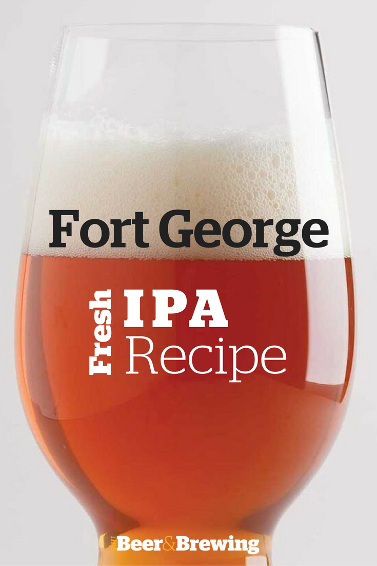 Jack Harris of Fort George Brewery provided this recipe for their wet-hops India pale ale.