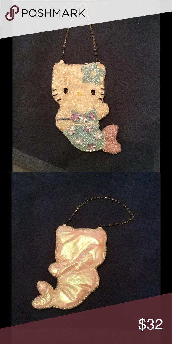 Selling this 🍬Vintage Hello Kitty Sequin Mini Bag!🍬 on Poshmark! My  username is  ckuller.  shopmycloset  poshmark  fashion  shopping  style   hellokitty ... a59e686a24d33