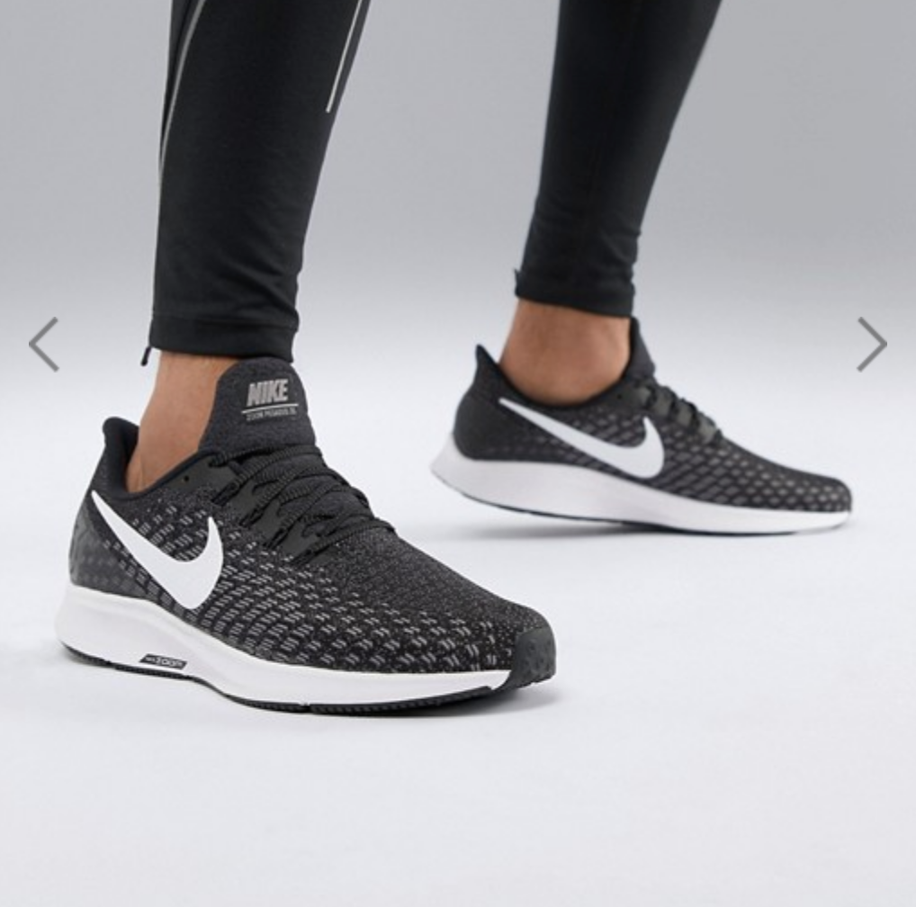 In Black Running Air 942851 001 35 Zoom Nike Pegasus Trainers K1uT3FlJc