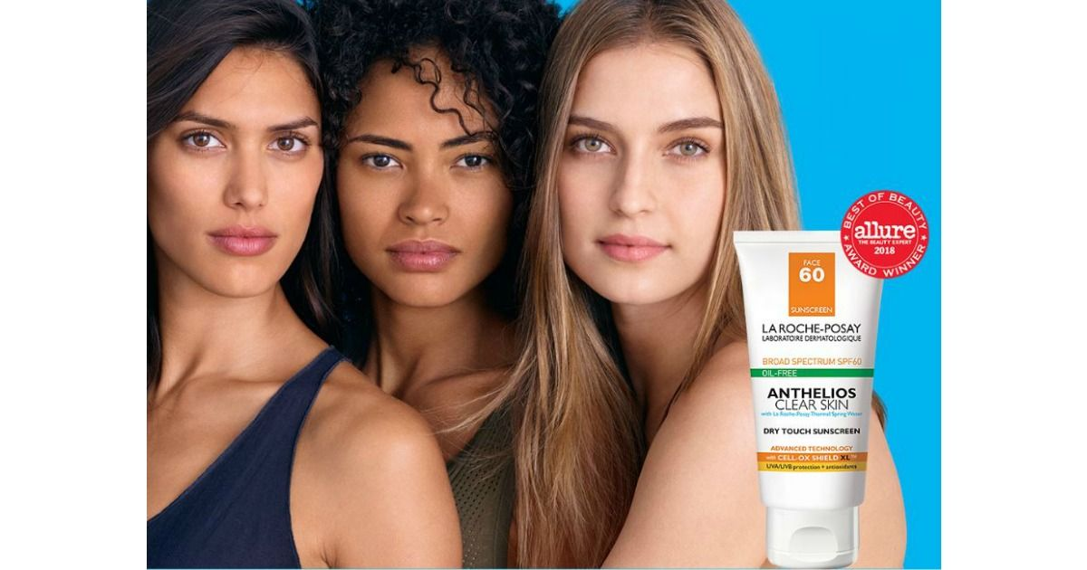 Available again free anthelios clear skin oilfree spf 60
