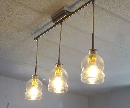 Recycle Plastic Bottles Into Lamp Shades