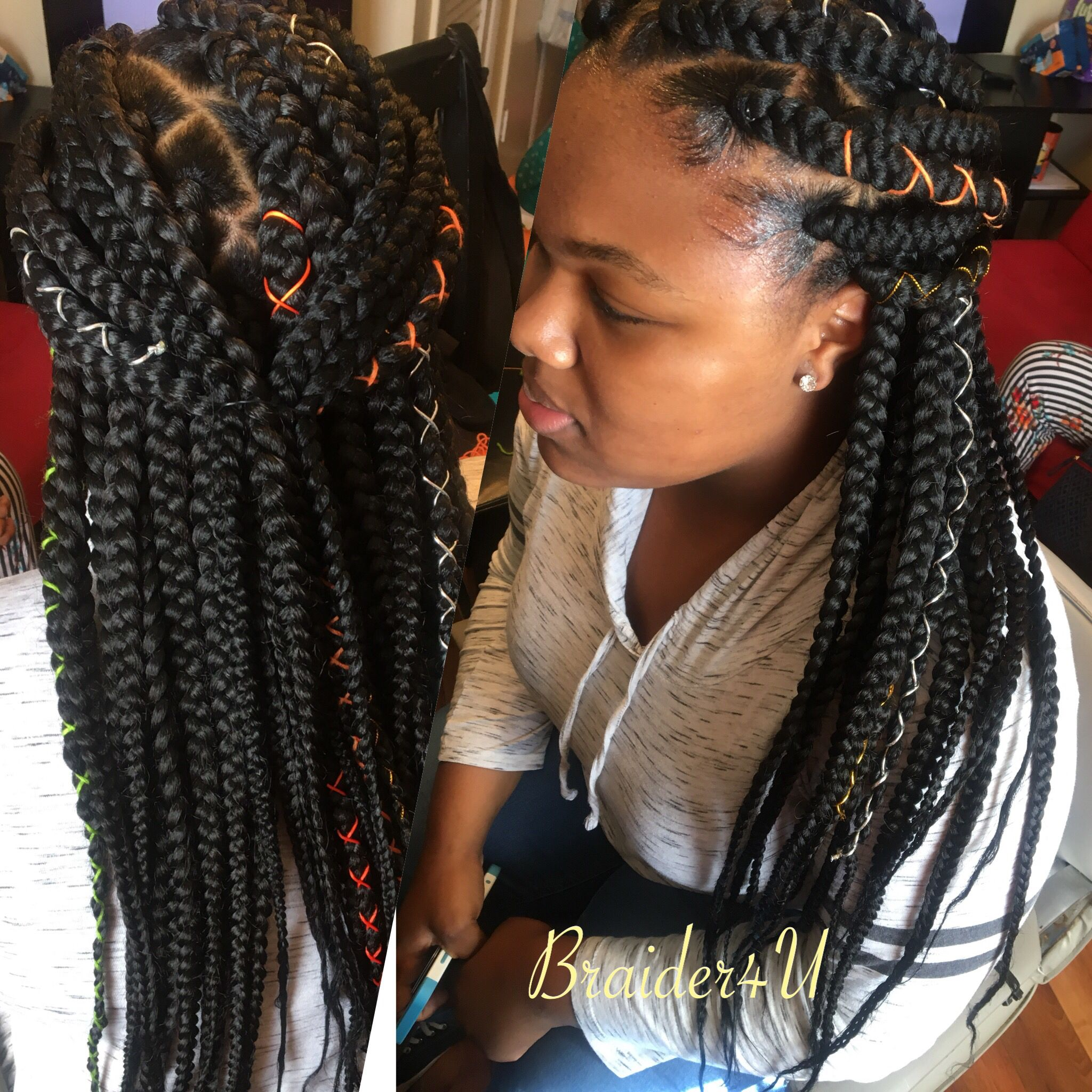 Hair hairstyles braids boxbraids protectivestyles african