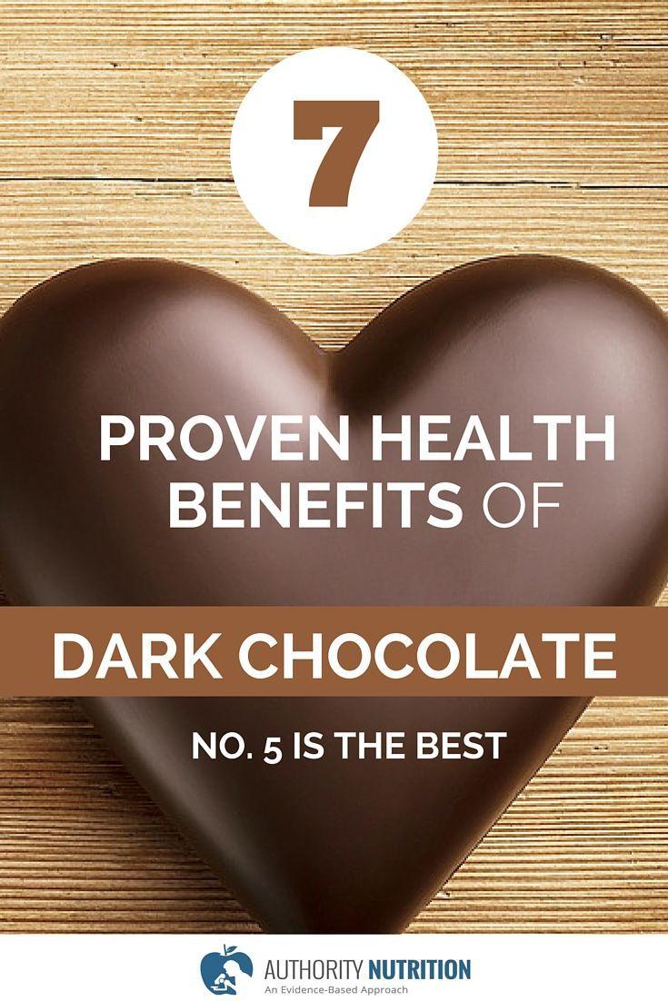 7 Proven Health Benefits of Dark Chocolate   Salute, Scuro e ...