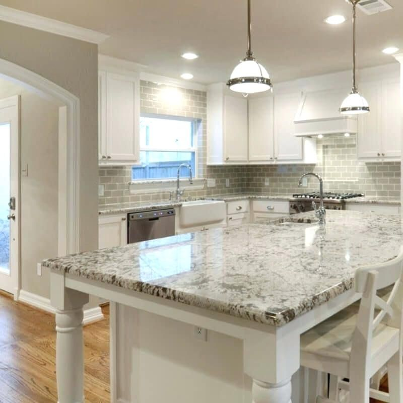 backsplashes that go with white cabinets and wood floors ... on Backsplash Ideas For White Cabinets And Granite Countertops  id=42138