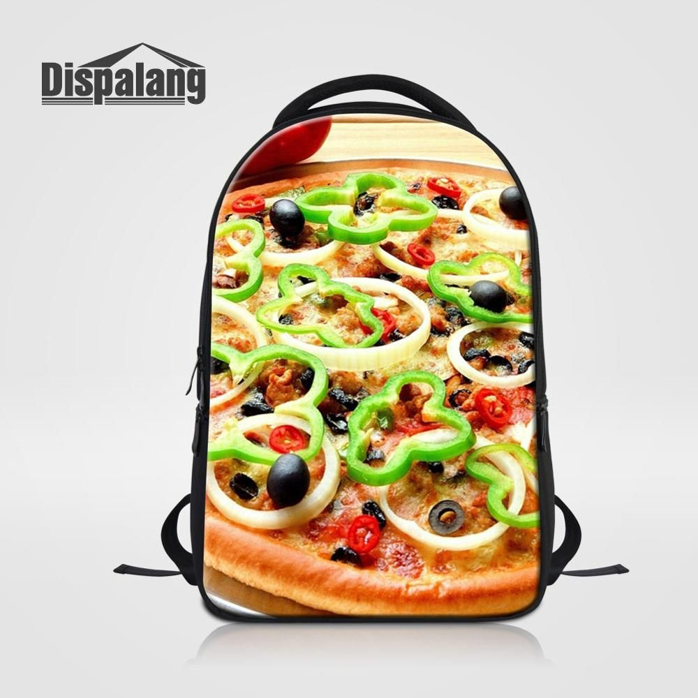 Delicious Food Pizza Candy Sushi Print Women Laptop Backpacks Large School Bag for College Students Computer Notebook Back Pack    !!!Attention!!! valid discount 31.99% buy now for: 33.99$ #candysushi