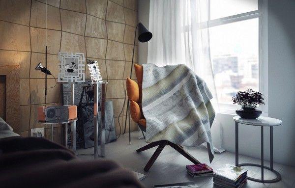Contemporary bedrooms by koj