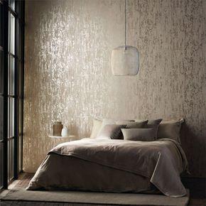 wandtapeten schlafzimmer teppich penedelleuchte | Bedrooms ...