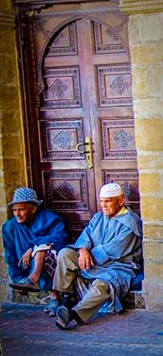Old friends . Morocco
