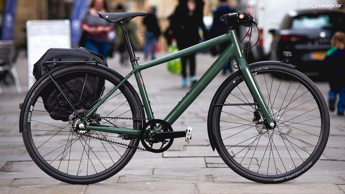 Canyon Commuter Brooks 150 First Ride Review Sepeda