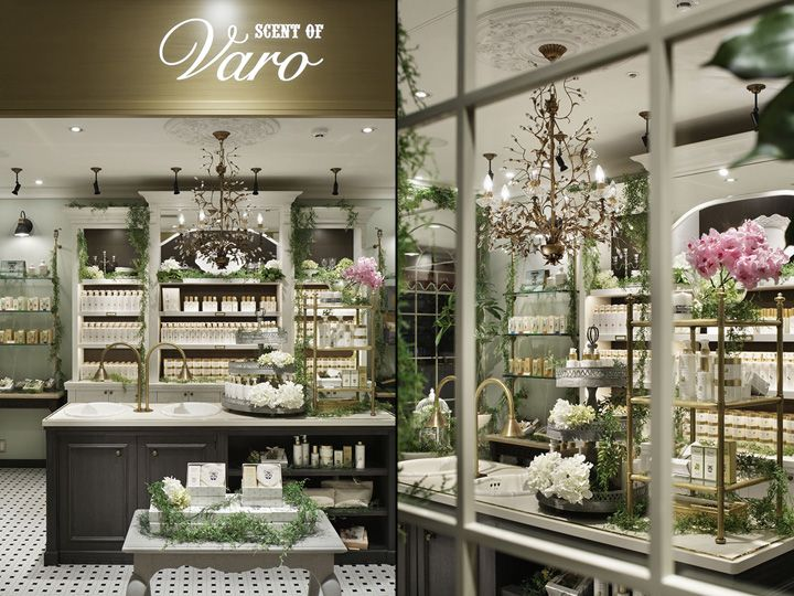 Scent of Varo store by acca Inc.Glamshops - retail design and shop reviews  http fc2f610d890