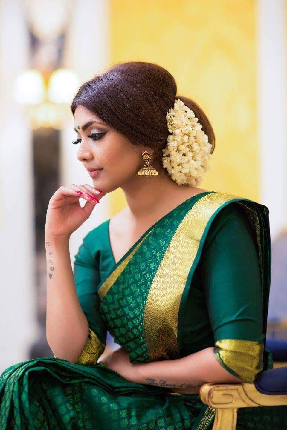 Pin by Bhiranavey Thevan on Sarees & accessories  Simple