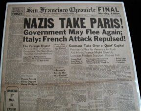 World War Ii Newspaper Task  Headlines Good Bad  The Ugly