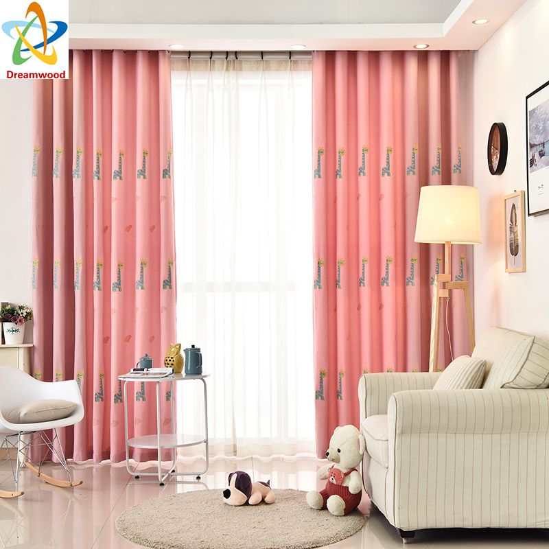 Dreamwood Environmentally friendly Embroidered Carton Window Curtain ...