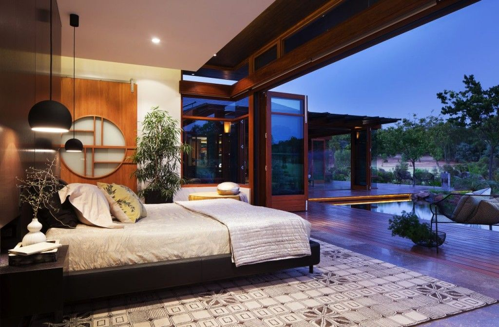 Japanese Juxtapose designestate Zen bedroom, Interior