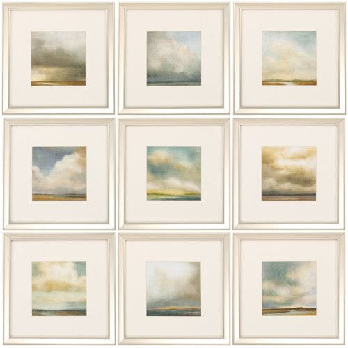 Found it at Wayfair Supply - Atmosphere 9 Piece Framed Painting
