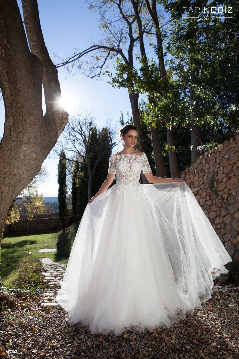 Wedding dress shops in deira dubai  Tarik Ediz White  Details  My Favorite Wedding Gowns  Pinterest