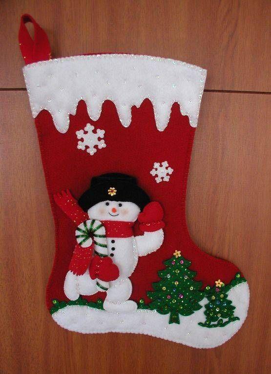 Botas Navideñas adornos navideños Pinterest Christmas - objetos navideos